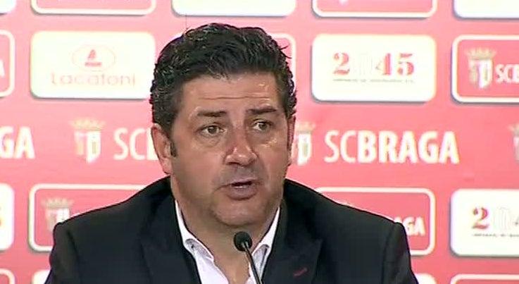 Desporto - Rui Vit�ria defende justi�a da vit�ria do Benfica em Braga