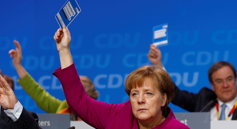 CDU aprova acordo de coligação na Alemanha