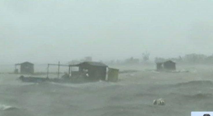 Mais de 120 pescadores desaparecidos por causa de tempestade nas Filipinas