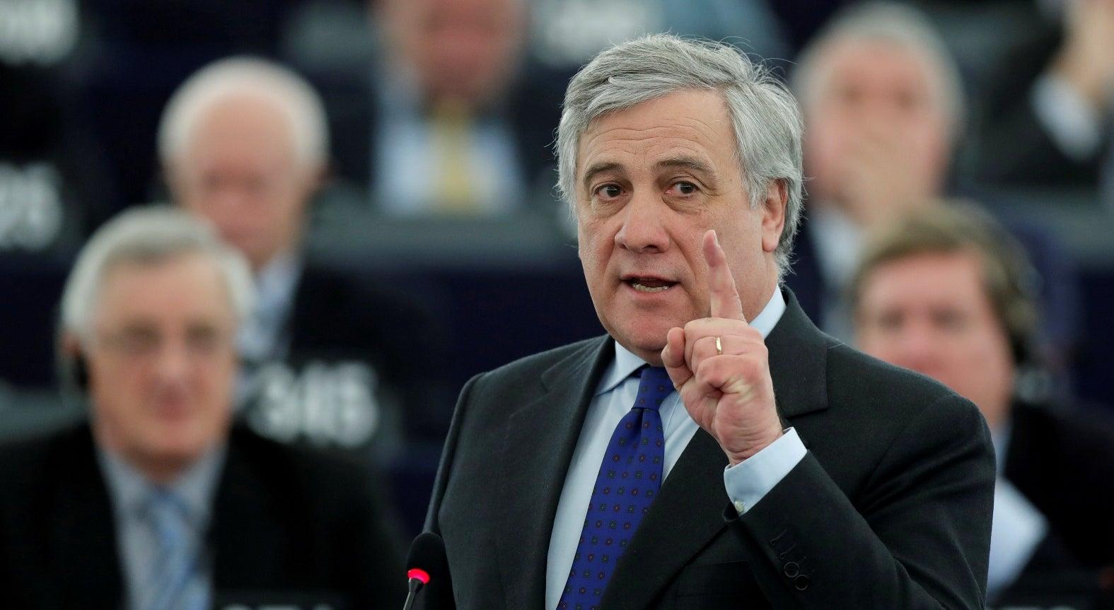 Antonio Tajani eleito presidente do Parlamento Europeu