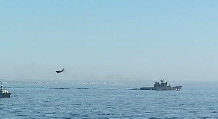 Coopera��o na defesa do Mediterr�neo testada ao largo de Portim�o