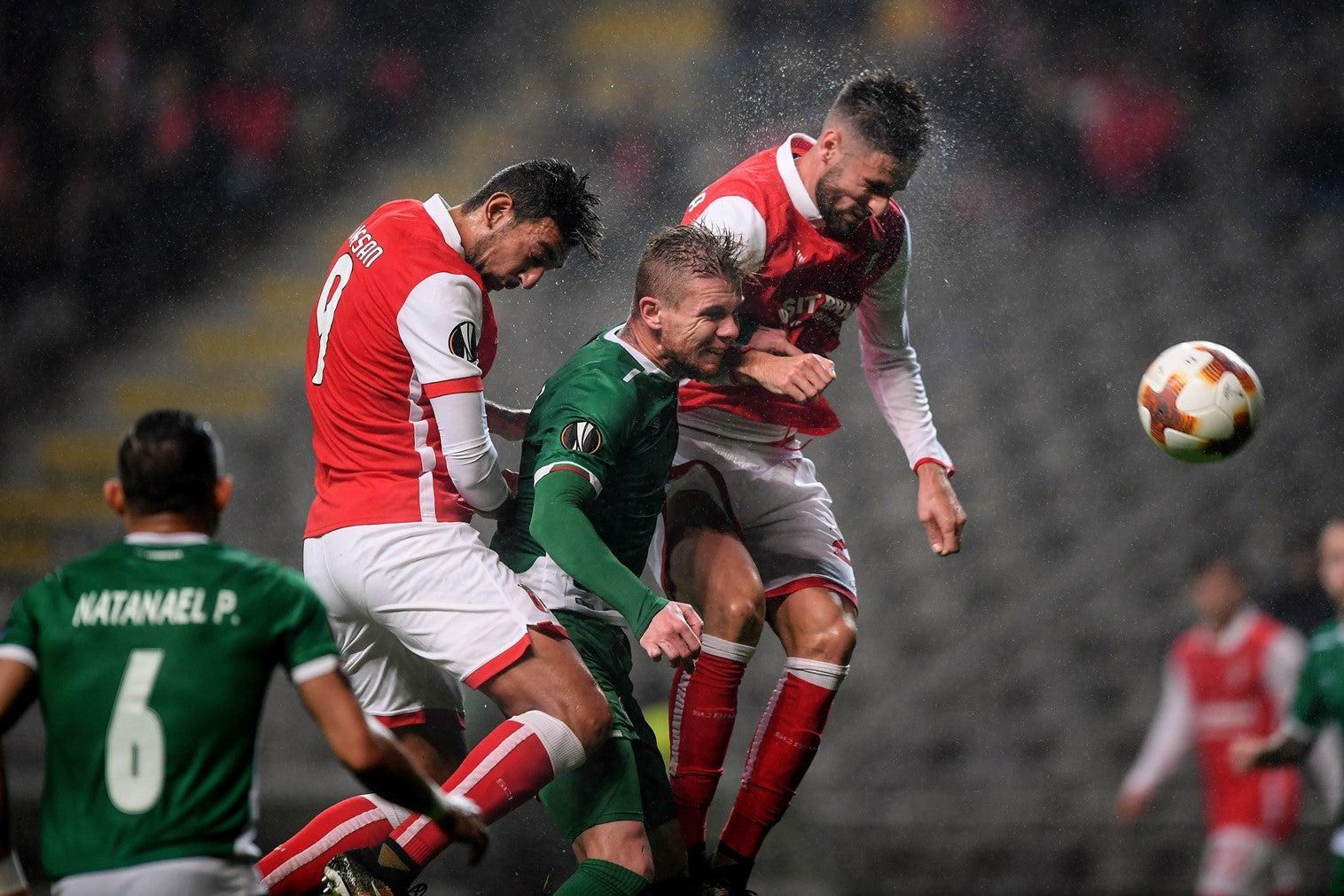 SC Braga sofre primeira derrota na Liga Europa