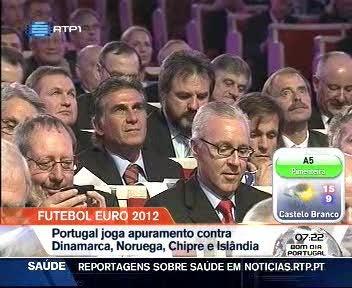 Portugal joga apuramento para o Euro 2012 contra Dinamarca, Noruega, Chipre e Isl�ndia