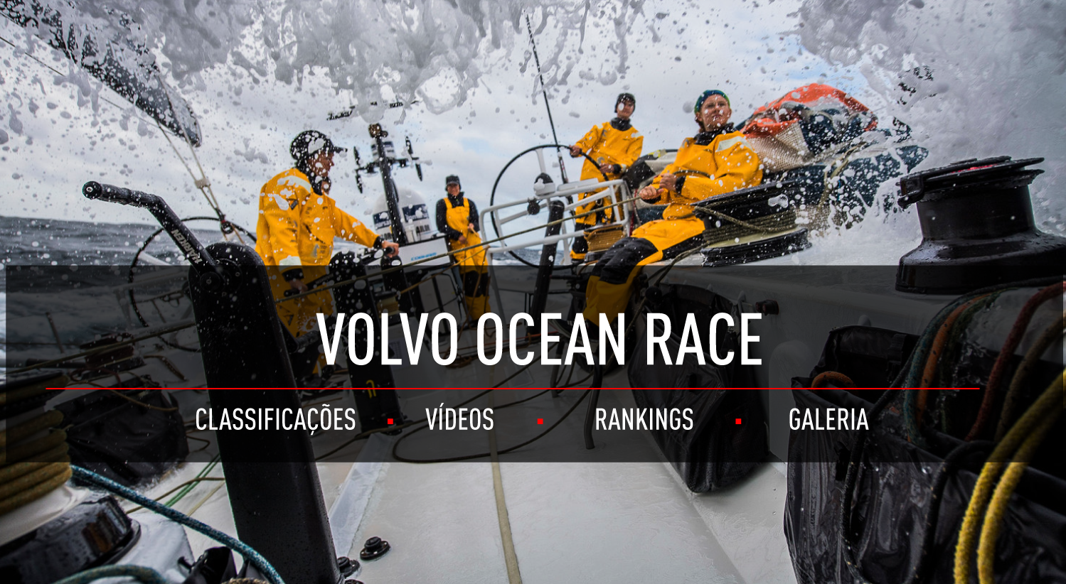 Volvo Ocean Race: Siga a regata mais dura do mundo