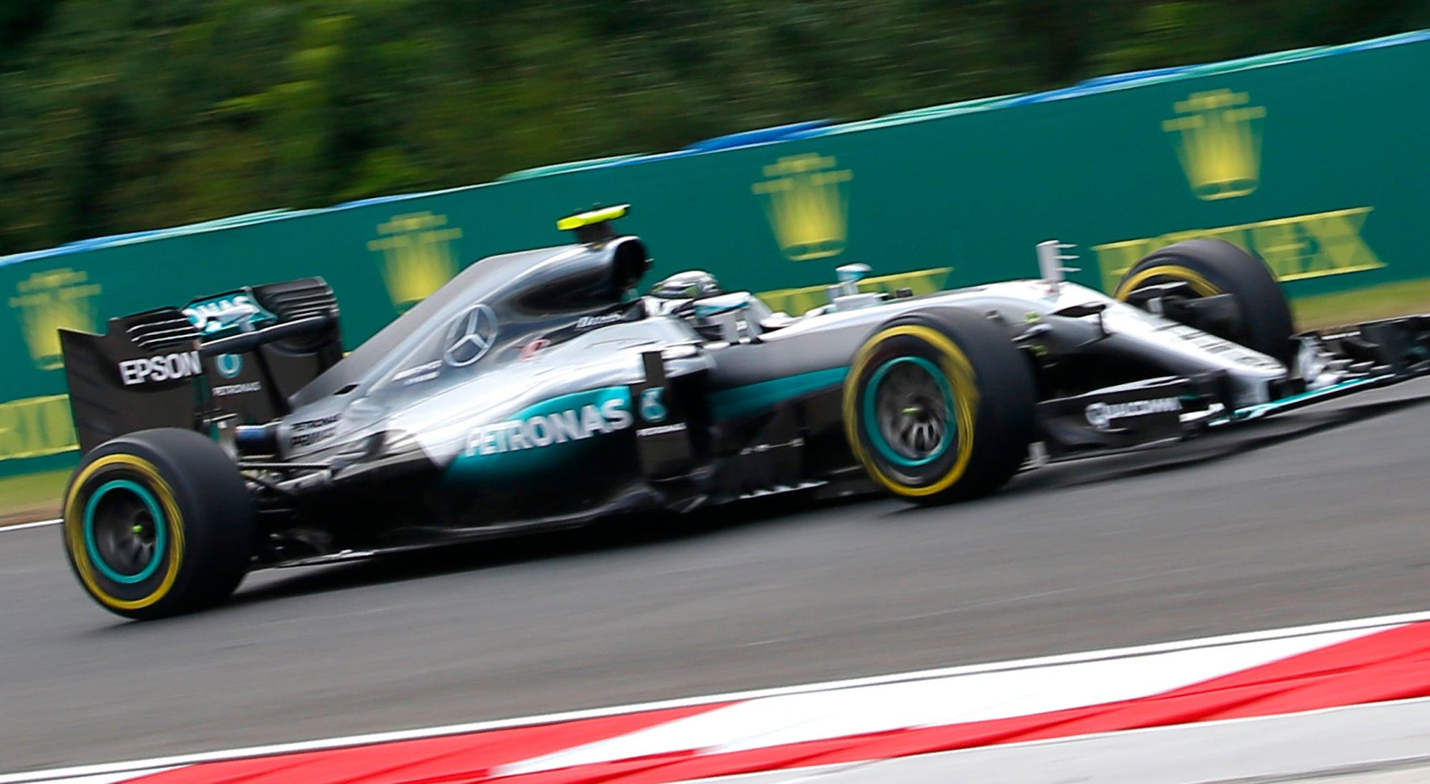 Rosberg Pole em Budapeste