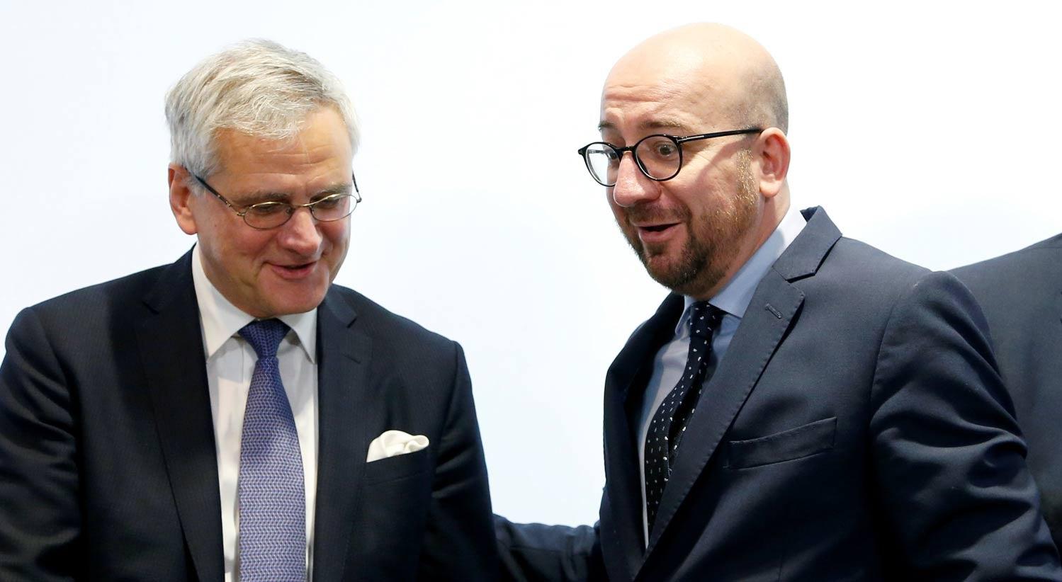 Governo belga entende-se para dar luz verde a acordo com Canad�
