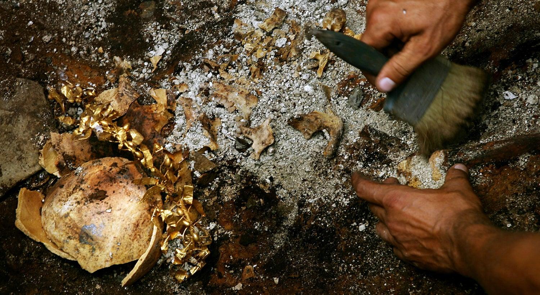 Escavação em França descobre