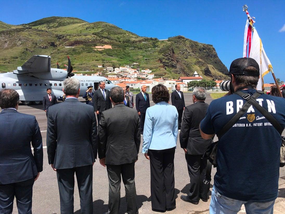 Marcelo visita sete ilhas dos Açores