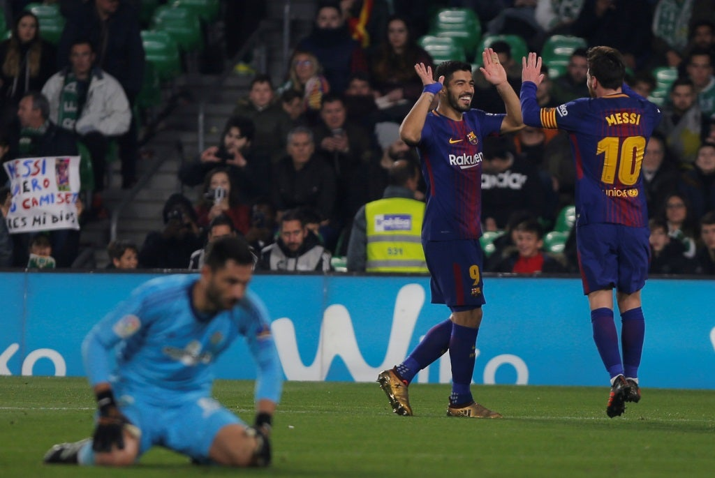 Messi comanda mais uma goleada do Barcelona