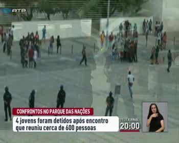 Meet no Vasco da Gama deixa cinco polícias feridos e quatro jovens detidos 55148326af3e4