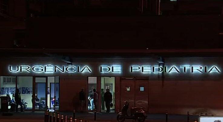 Crian�a baleada em Braga internada no Porto com progn�stico muito reservado