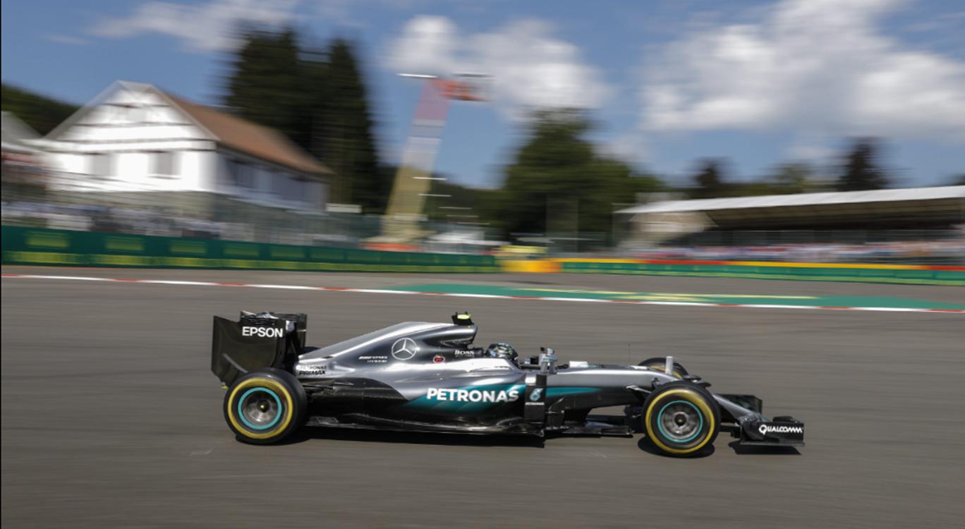 Rosberg Pole em Spa, GP da B�lgica
