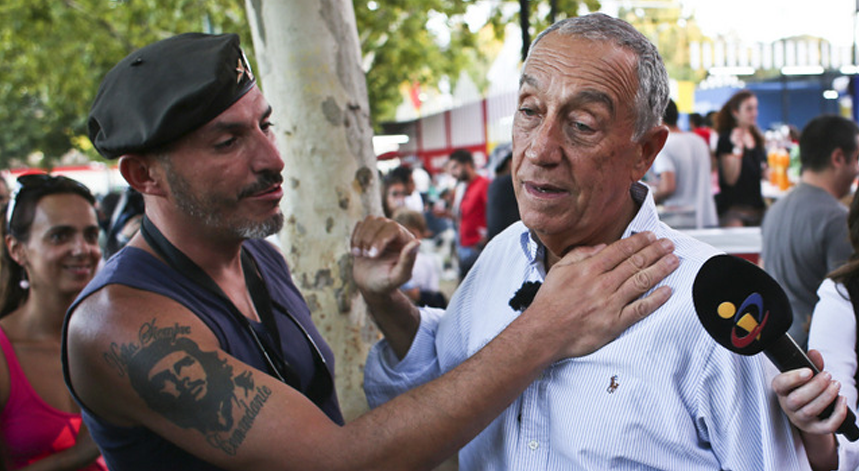 Marcelo Rebelo de Sousa anuncia candidatura � Presid�ncia