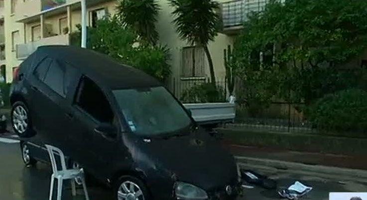 Inunda��es provocam 13 mortes na Riviera Francesa
