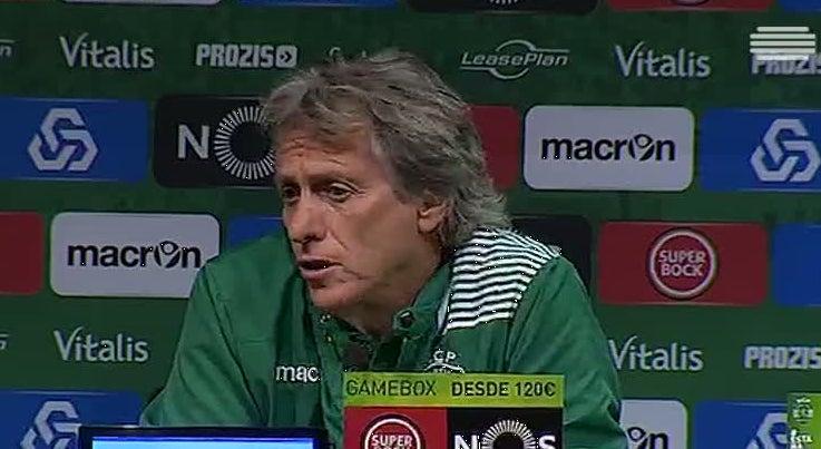 Sporting - Jorge Jesus espera dificuldades com o Tondela