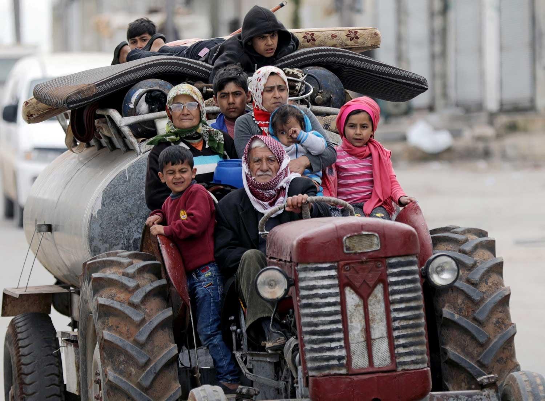 Turquia anuncia cerco a cidade síria de Afrin
