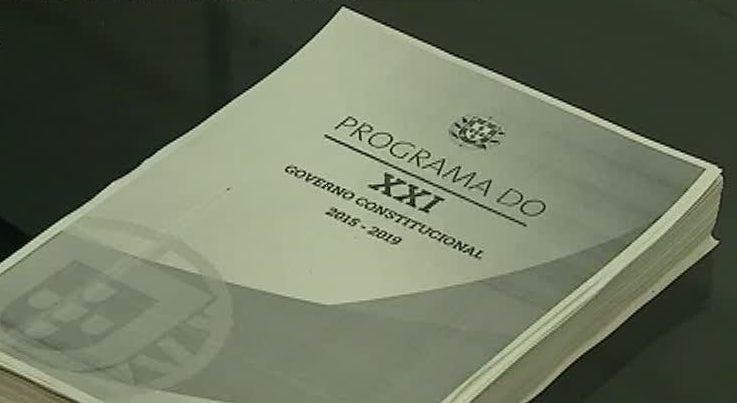 Programa do Governo defende fim da austeridade como motor do emprego e da economia