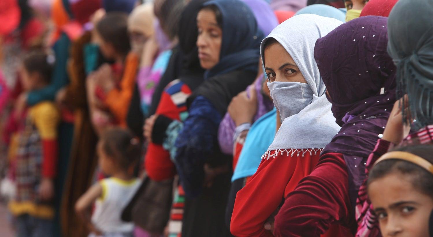 Estado Isl�mico est� a usar civis como escudos humanos em Mossul