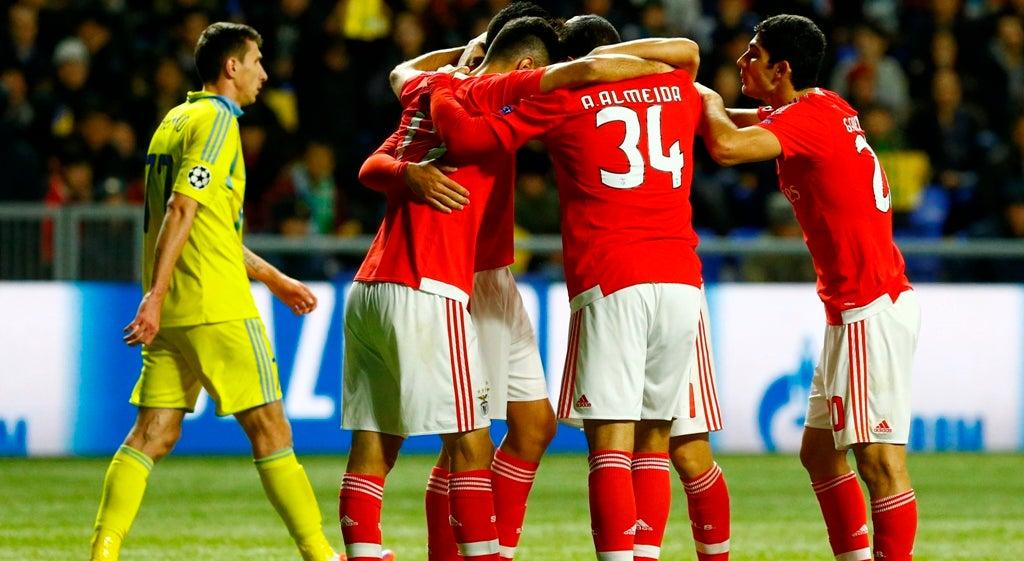 Benfica nos oitavos de final da Liga dos Campe�es