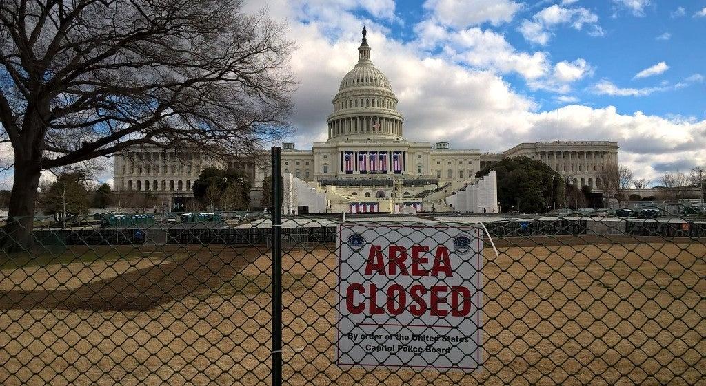 Mundo - Habitantes de Washington fogem da tomada de posse de Donald Trump