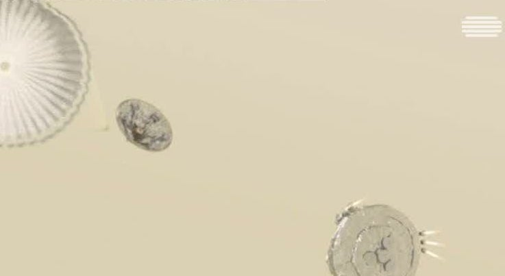 Mundo - Sonda destru�da ao cair na superf�cie do planeta Marte