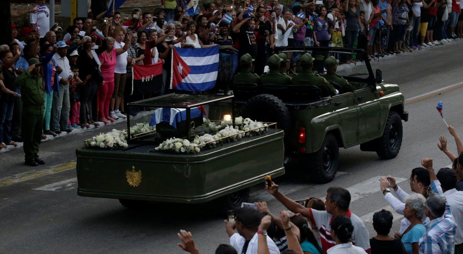 Mundo - Urna de Fidel Castro já chegou a Santiago de Cuba