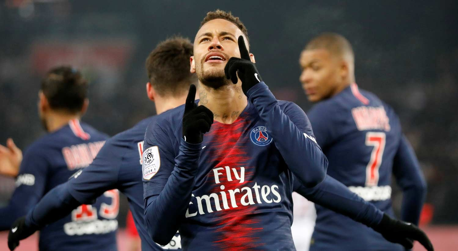 Paris Saint-Germain bate recorde ao golear Guingamp por 9-0