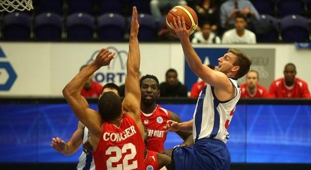 Dragões perdem no arranque da Taça da Europa da FIBA