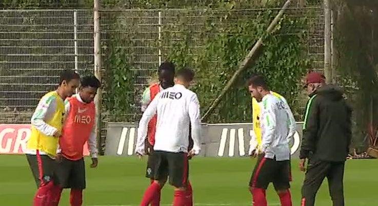 Sele��o Nacional j� prepara os jogos com a Dinamarca e a S�rvia
