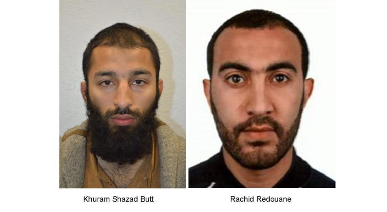 Polícia revela a identidade de dois dos três atacantes de Londres