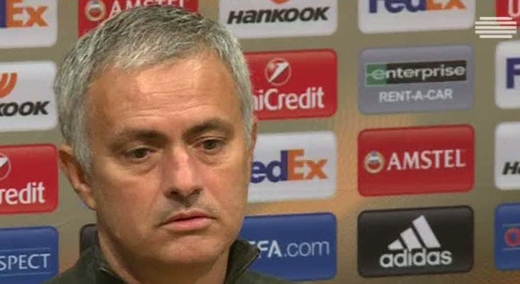 Desporto - Mourinho satisfeito com goleada ao Fenerbah�e