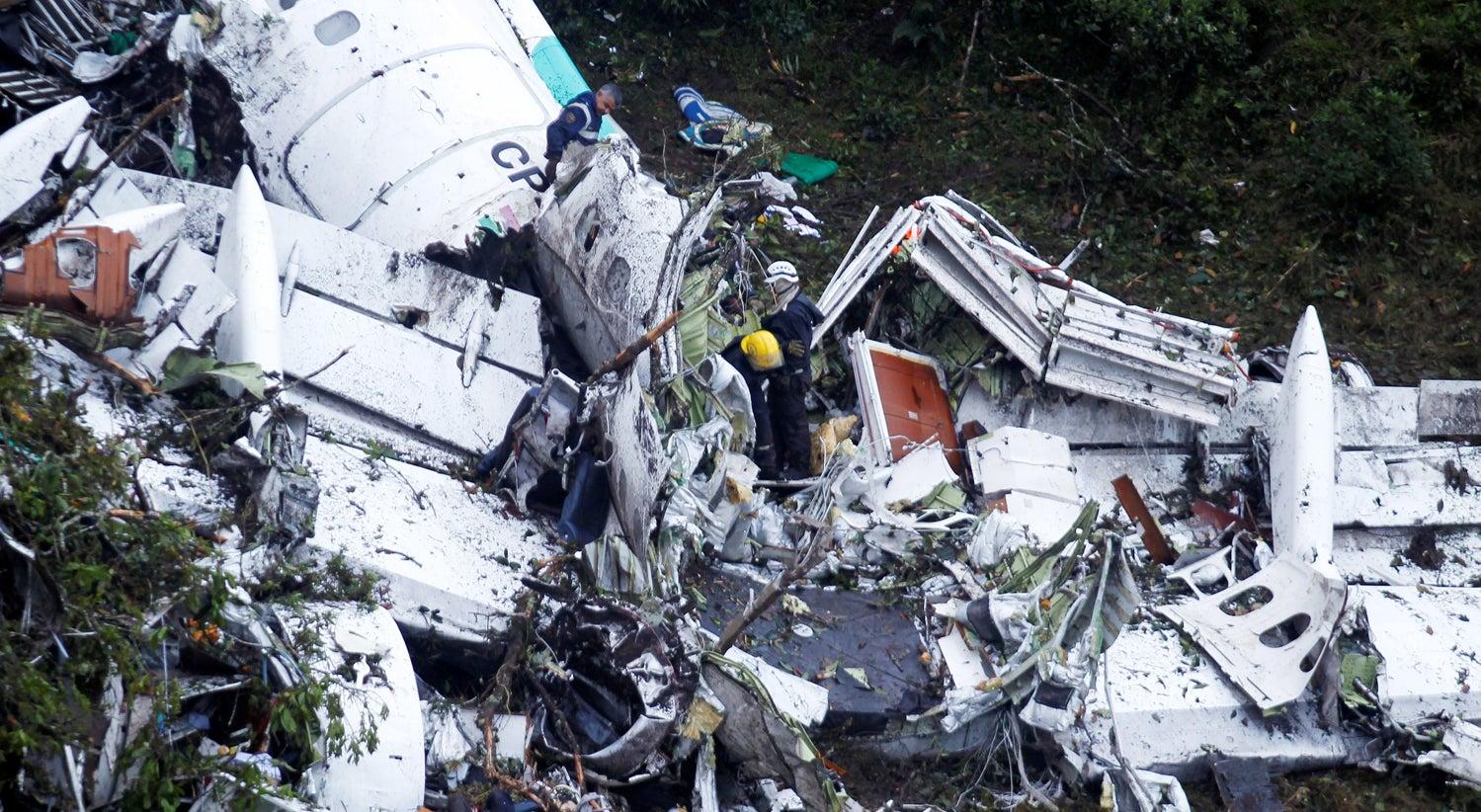 Mundo - Identificadas todas as vítimas do desastre aéreo na Colômbia