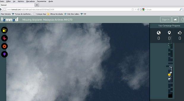 Lançada aplicação na Internet para procurar o Boeing 777 da Malaysian Airlines