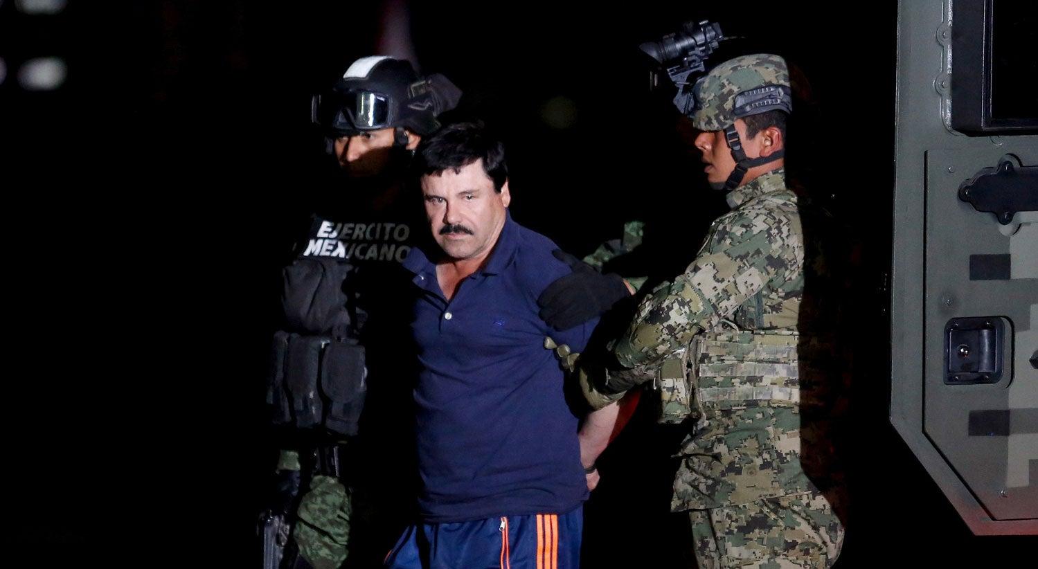 México entregou El Chapo aos Estados Unidos