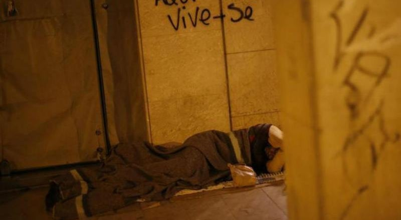 Vaga de frio motiva mais apoio aos sem-abrigo