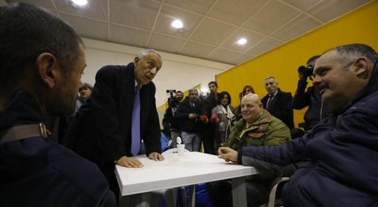 País - Presidente da República visitou os sem-abrigo