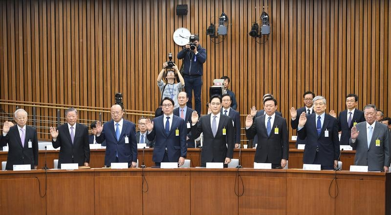 Resultado de imagem para Parlamento da Coreia do Sul aprova destituição da Presidente do país