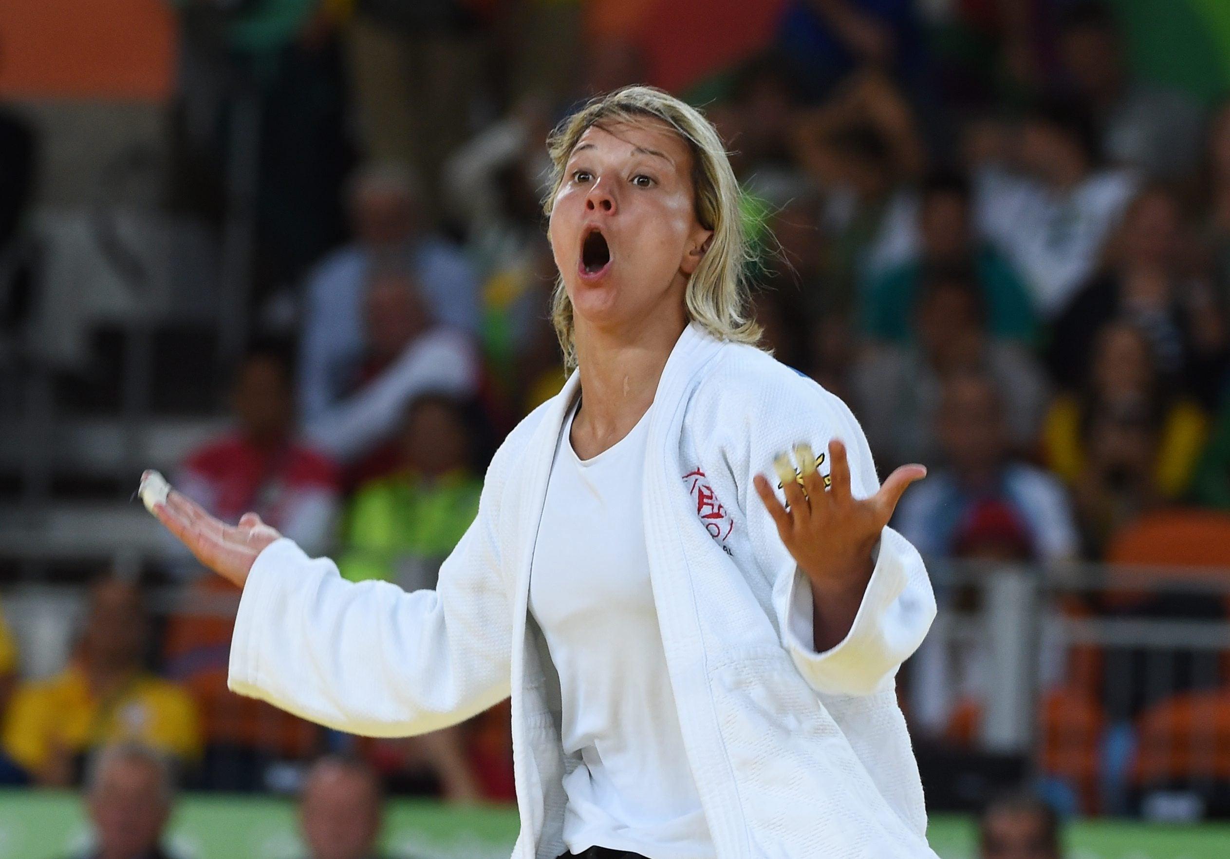 Telma Monteiro está nos quartos-de-final dos Mundiais
