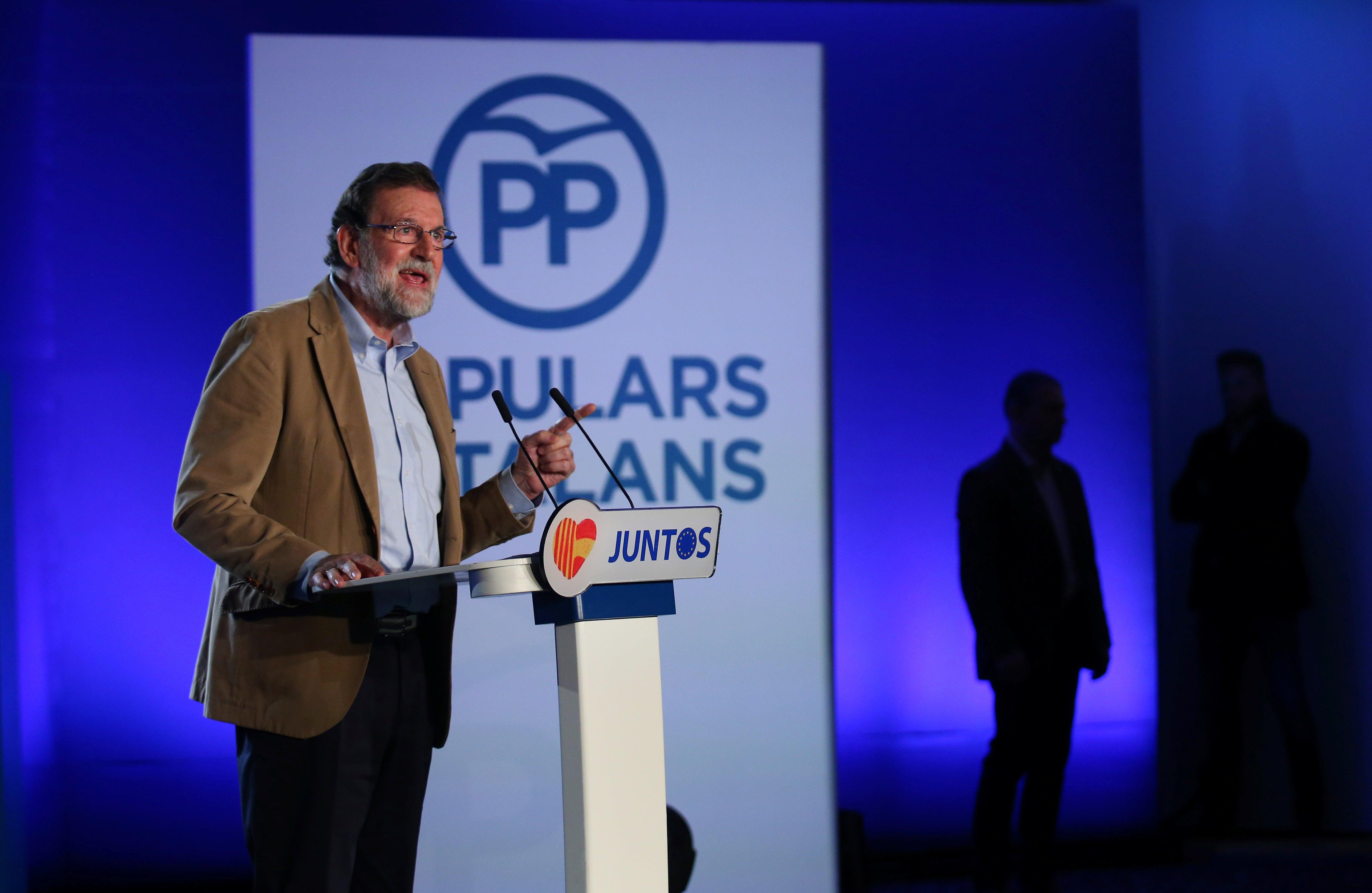 Mariano Rajoy pede voto da