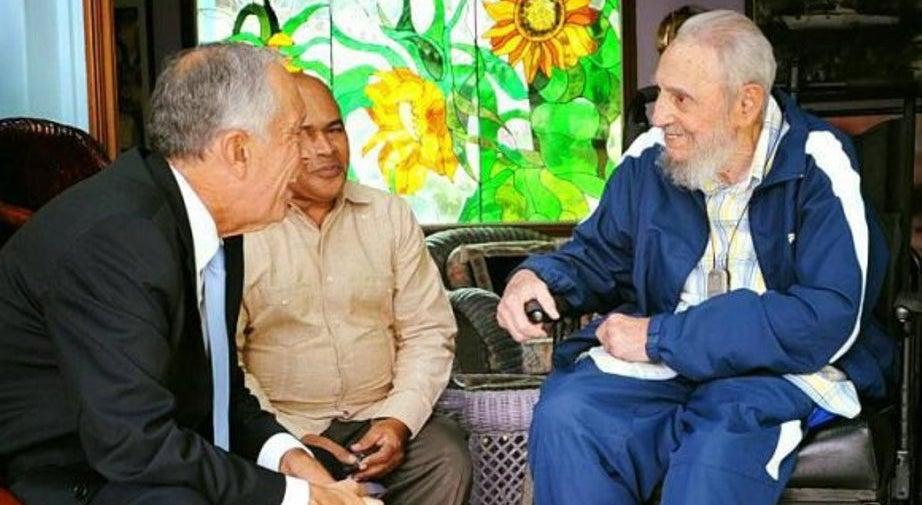 Marcelo diz que Fidel acompanha tudo o que se passa