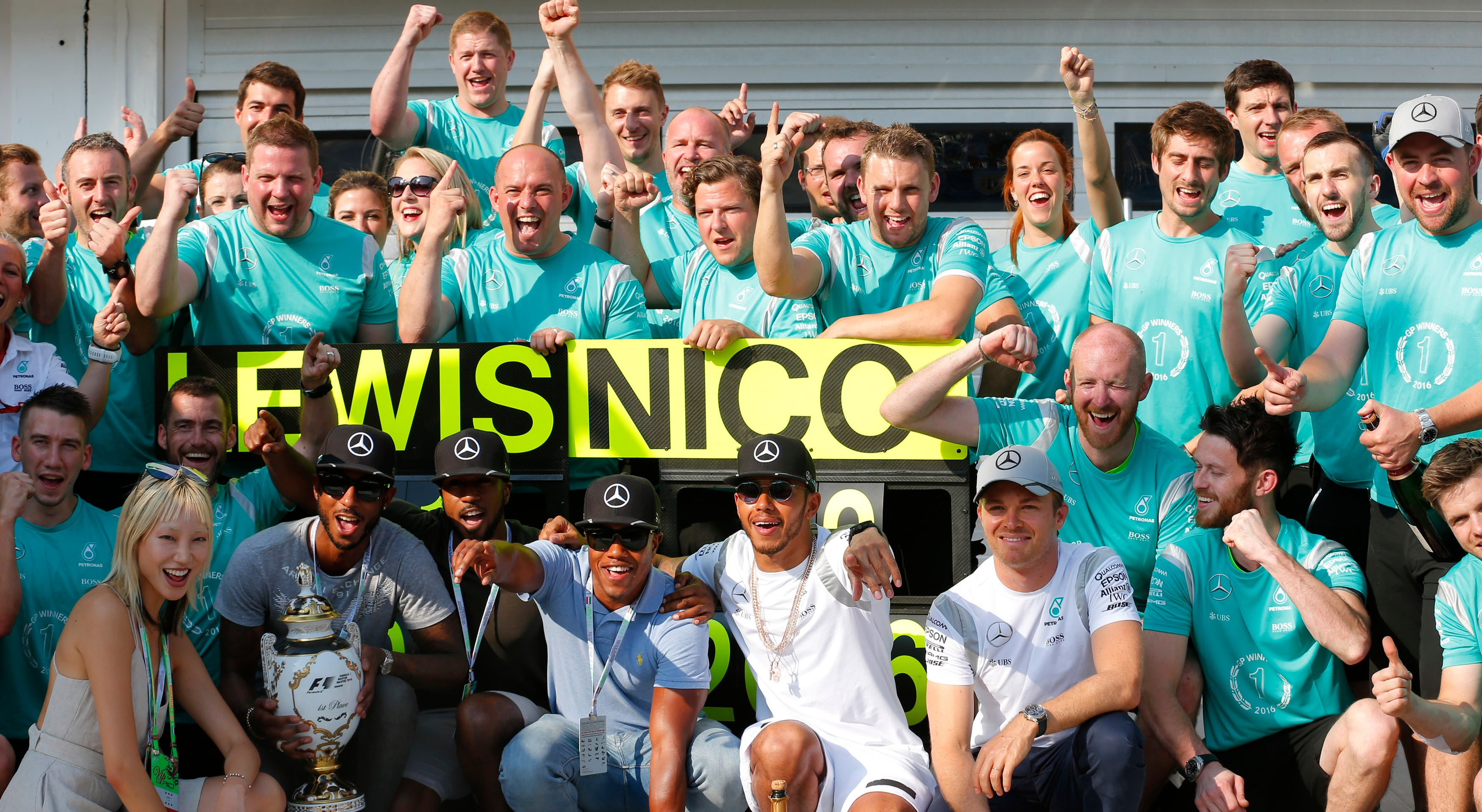 N�meros, Estat�sticas e Grid Girls - GP da Hungria