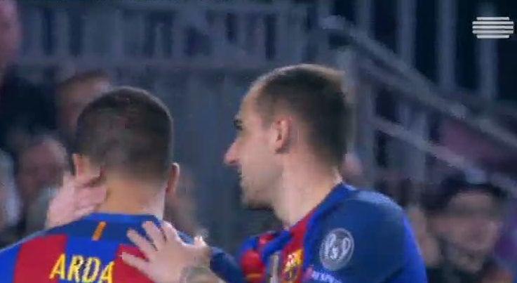 Liga dos Campeões - Barcelona goleia Monchengladbach com hat-trick de Arda Turan
