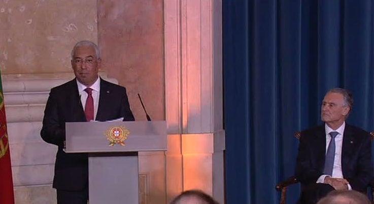 Pol�tica - Posse do XXI Governo: discurso integral de Ant�nio Costa