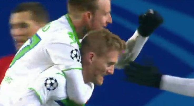 Liga dos Campe�es - Wolfsburgo derrota CSKA Moscovo na R�ssia
