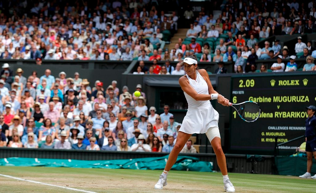 Muguruza é a nova rainha de Wimbledon