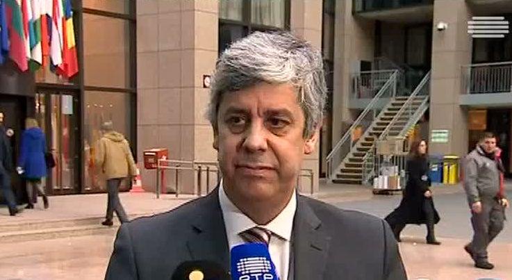 Economia - Eurogrupo ratificou orçamento português