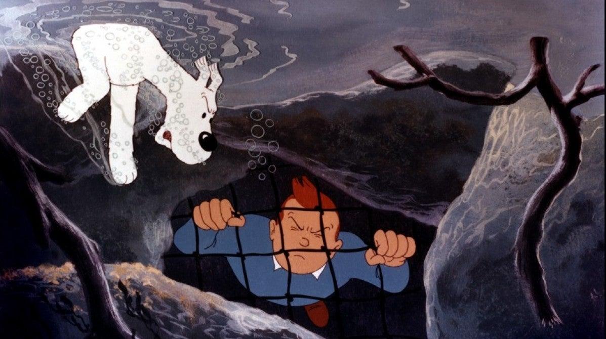 Tintin e o Lago dos Tubarões
