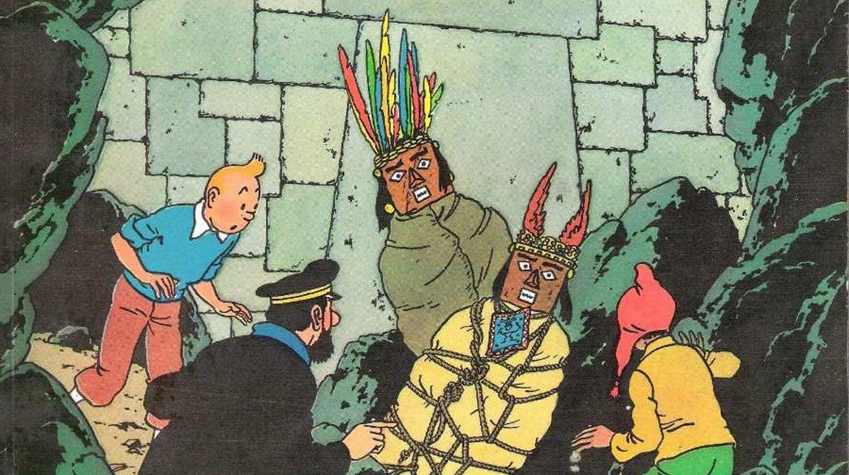 Tintin e o Templo do Sol