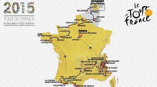 Ciclismo: Volta a França 2015