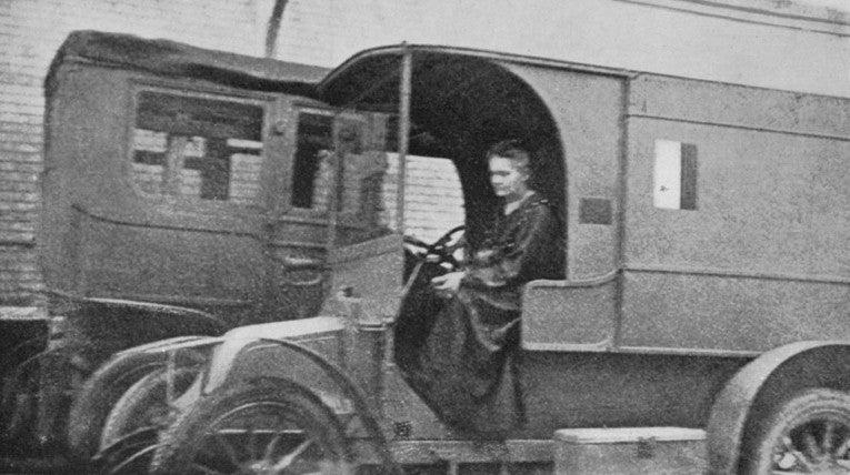 Madame Curie na Frente de Batalha